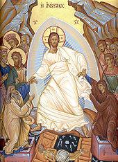Eastern Orthodox Resurrection Icon