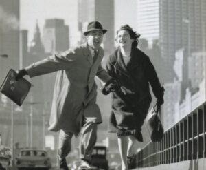 Couple on Bridge - New York