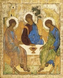 Rublev's Holy Trinity Icon