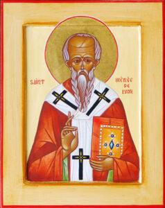 Icon of St. Irenaeus of Lyons