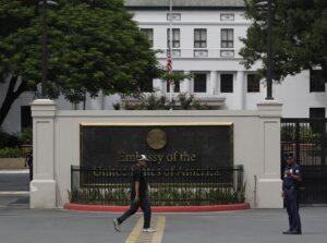 US Embassy in Manila, Philippines