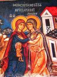 """The baby leaped in her womb"" (Luke 1:41)"