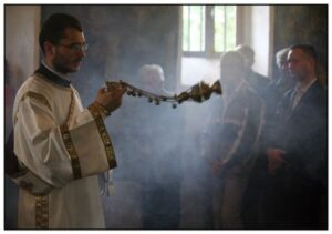 Orthodox Deacon Censing