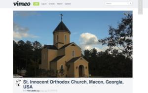 St. Innocent Orthodox Church - Macon, Georgia