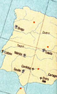 Map of Elvira and early Spain