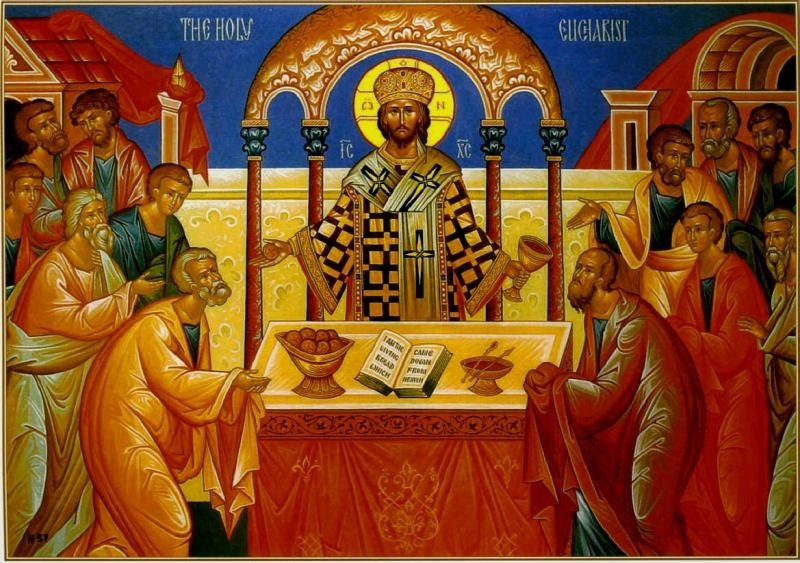"""""""The Lamb of God is broken and shared, broken but divided; forever eaten yet never consumed, but sanctifying those who partake of Him."""""""