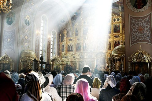 """Orthodox Worship -- """"We did know whether we were in heaven or on earth.""""  Source"""
