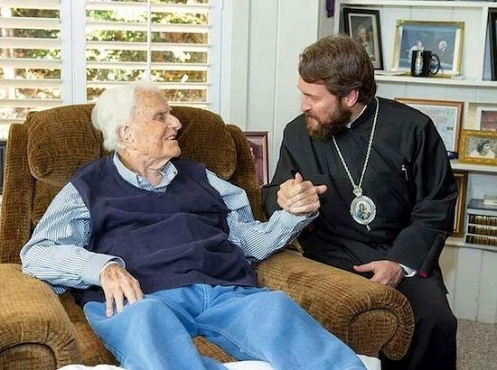 Billy Graham and Metropolitan Hilarion (2014)