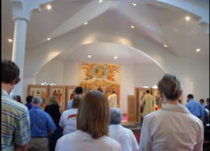 Reciting the Nicene Creed in Overland Park, Kansas