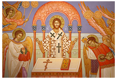 Christ at the Altar