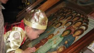 Child Honoring the Chinese Martyrs
