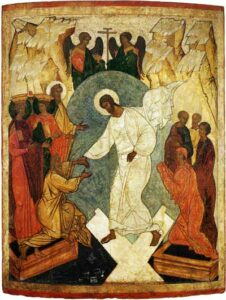 Icon of the Resurrection - Descent into Hell  Source