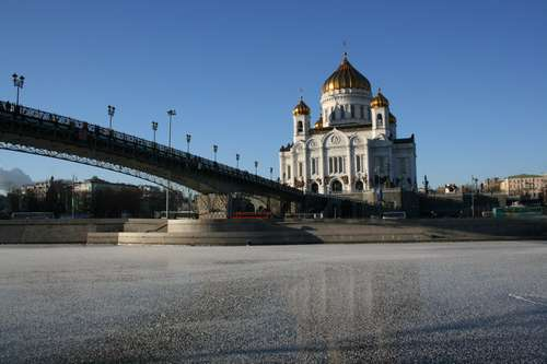 Cathedral of Christ the Savior - Symbol of New Russia  Source