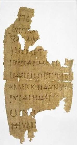 Rylands Papyrus 470