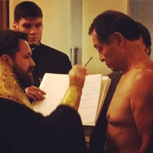 Baptism + Chrismation of Cary Hiroyuki Tagawa (2015)