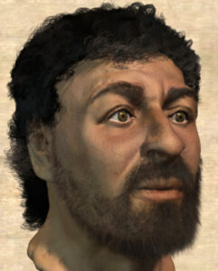 Depiction by Richard Neave